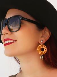 Orange - Earring