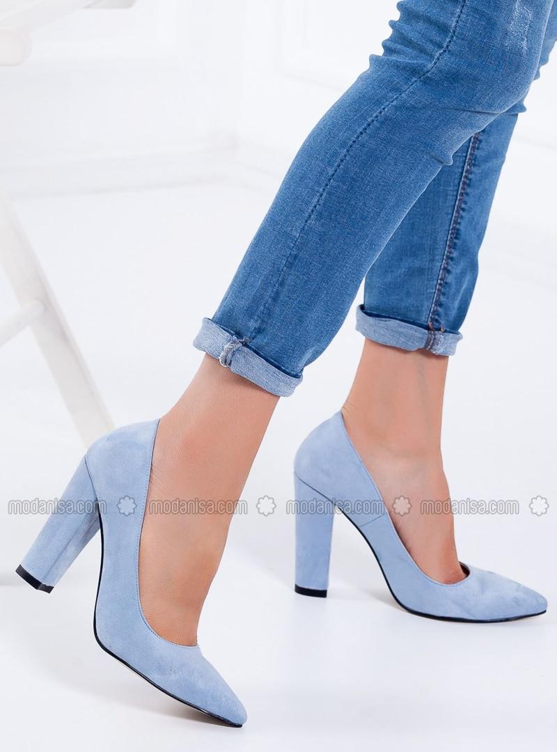 Baby Blue - High Heel - Heels