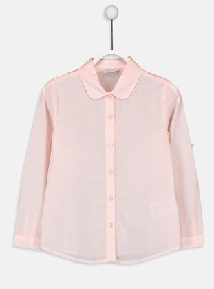 Pink - Girls` Shirt - LC WAIKIKI