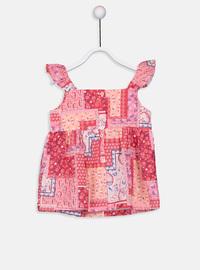 Printed - Coral - baby shirts