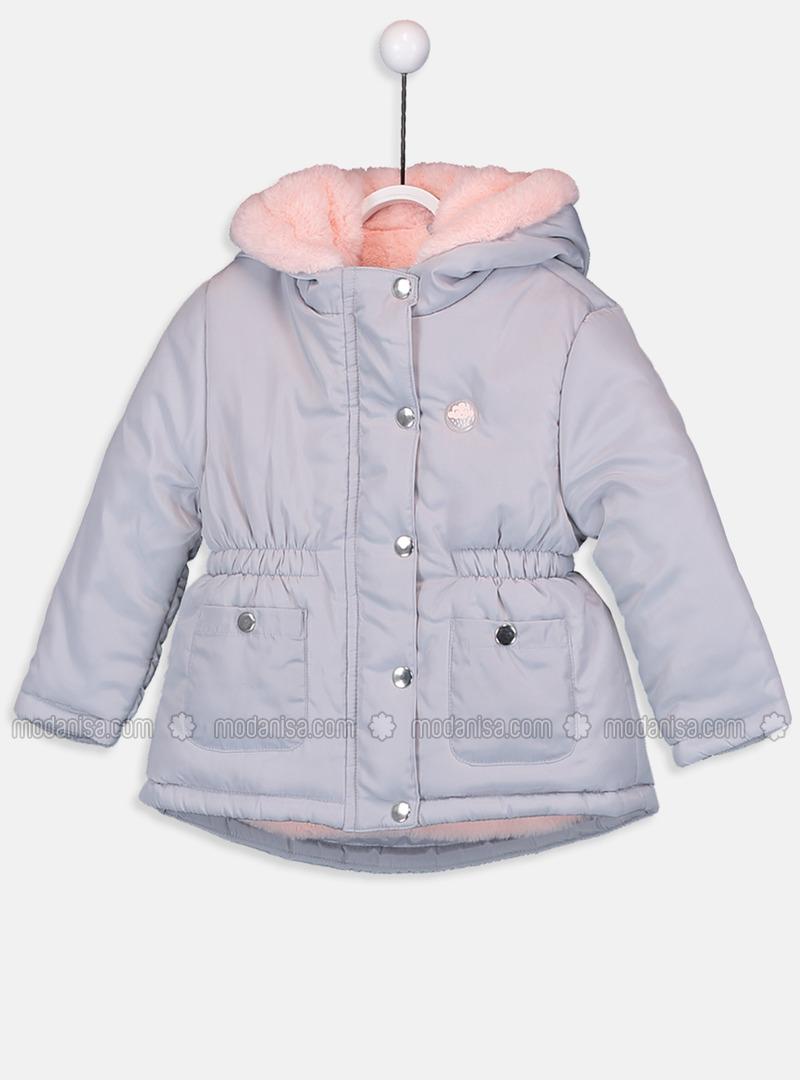 Gray - Baby Jacket