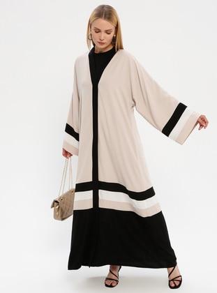 Black - Fully Lined - Abaya