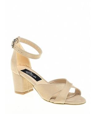 Nude - High Heel - Sandal - Sandal