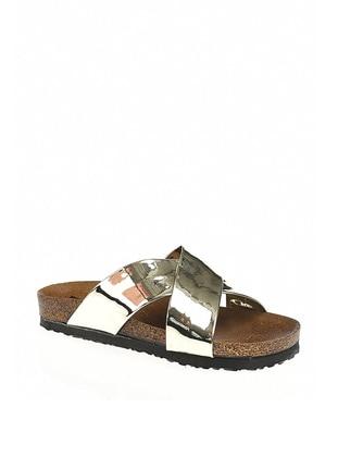 Gold - Gold - Sandal - Slippers