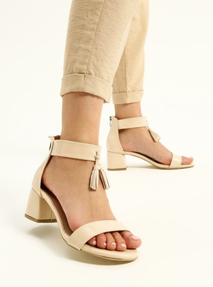 Straw - Nude - High Heel - Heels