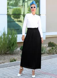 Black - Unlined - Skirt