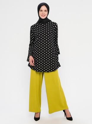 Mustard -  - Viscose - Pants