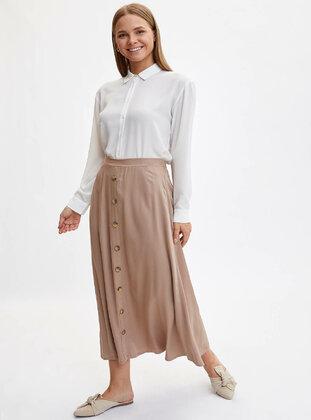 Beige - Skirt