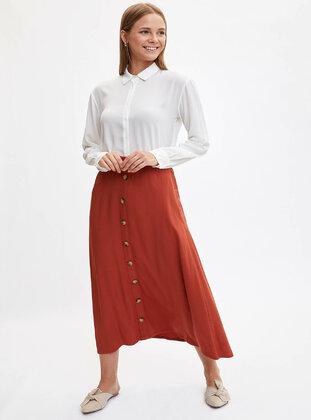 Orange - Skirt