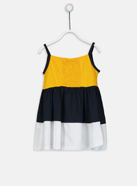 Printed - Yellow - Baby Dress