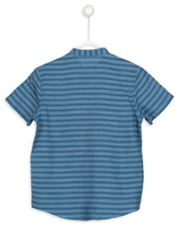 Stripe - Blue - Boys` Shirt
