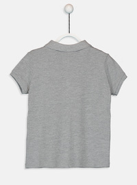 Gray - Girls` T-Shirt