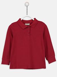Red - Girls` T-Shirt