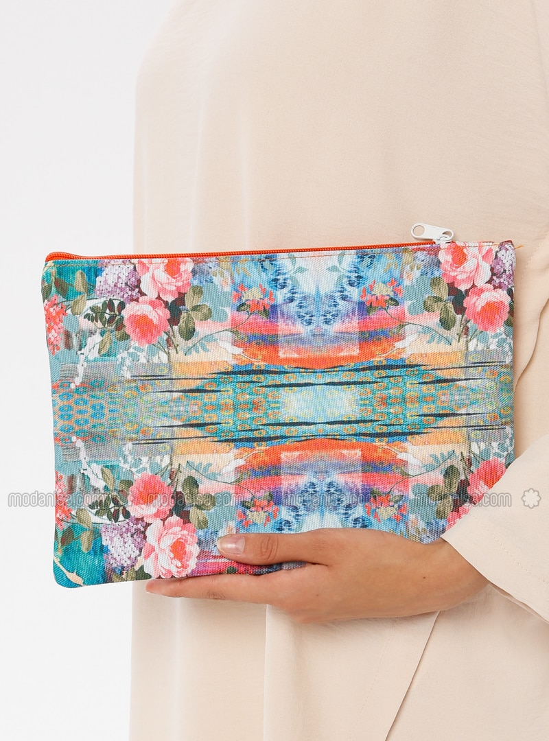 Orange - Clutch Bags / Handbags