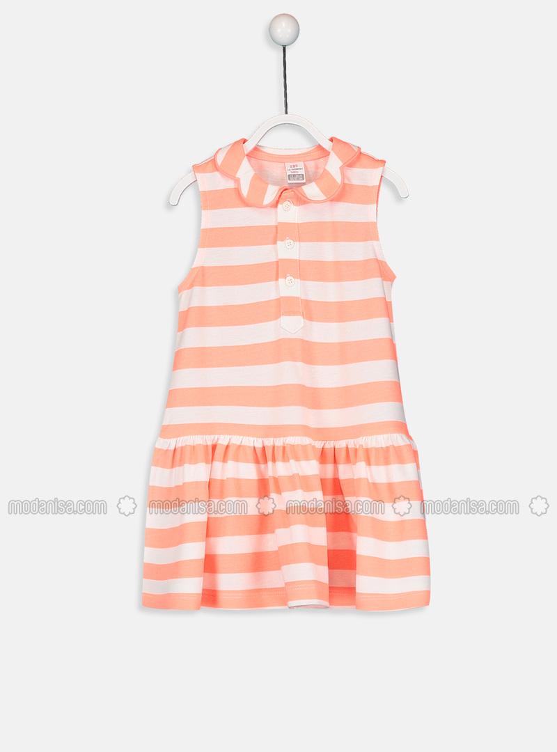 Stripe - Pink - Baby Dress