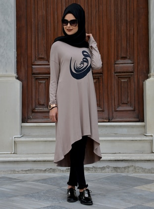 Mink - Viscose - Tunic