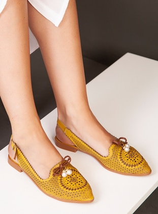 Yellow - Casual - Shoes