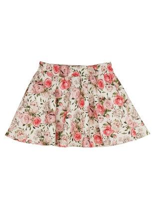 Floral - Multi - Girls` Skirt