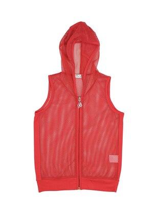 Red - Girls` Vest