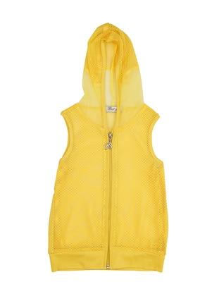 Yellow - Girls` Vest
