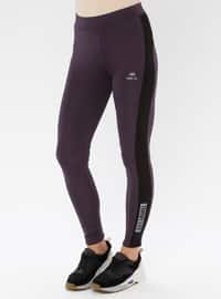Purple - Legging