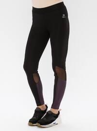Black - Purple - Legging