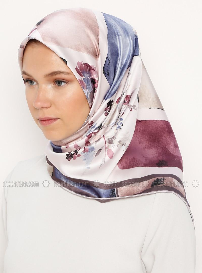 Lilac - Printed - Scarf