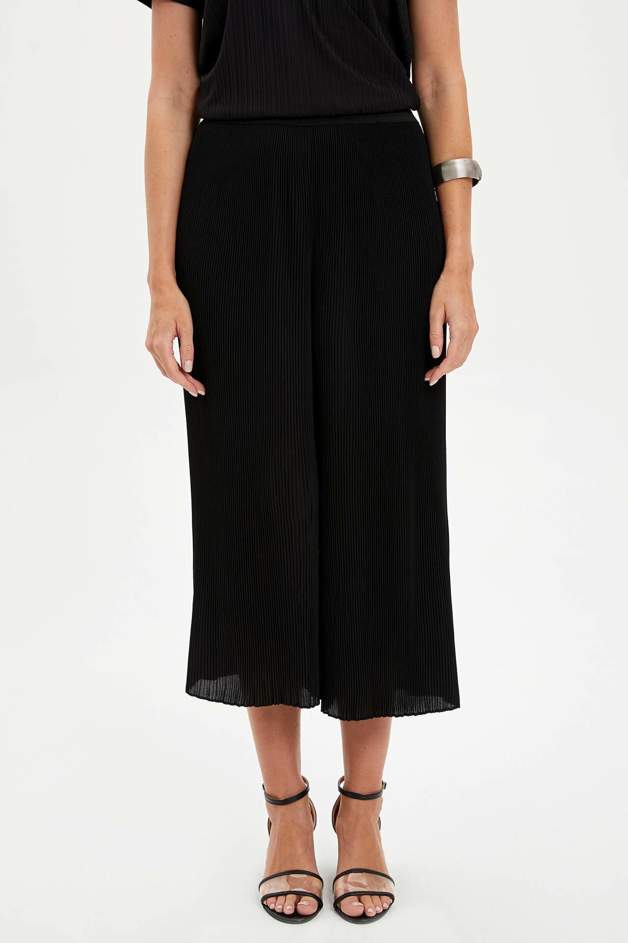 Tesettür Alt Giyim DeFacto Siyah Kadın 40