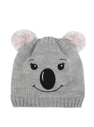 Gray - Girls` Beanie