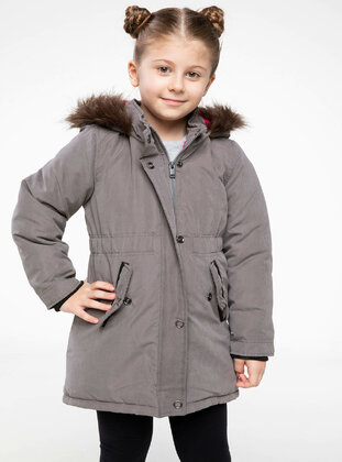 Gray - Girls` Jacket