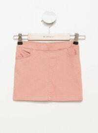 Maroon - Girls` Skirt