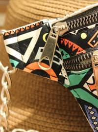 Black - Multi - Bum Bag