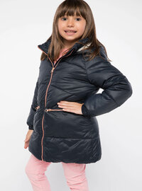 Navy Blue - Girls` Jacket