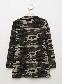 Khaki - Girls` Jacket