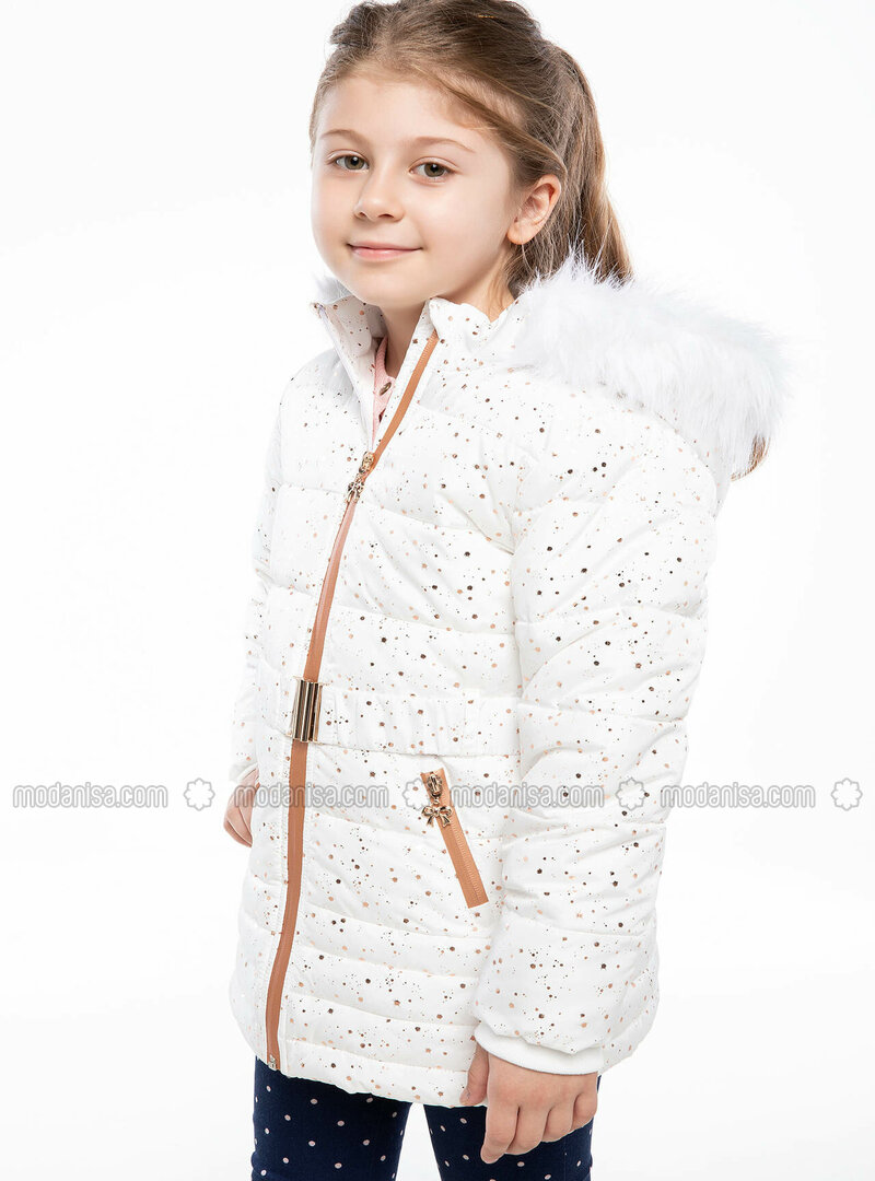Ecru - Girls` Jacket