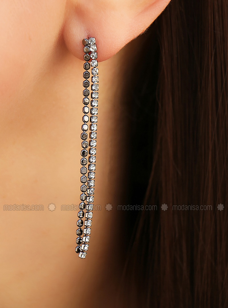 Anthracite - Earring