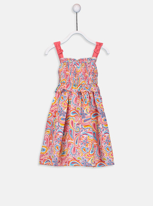 Printed - Coral - Baby Dress