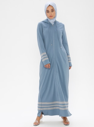 Turquoise - Unlined -  - Dress