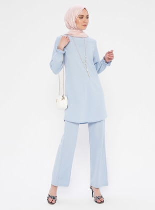 Blue - Baby Blue - Unlined - Suit