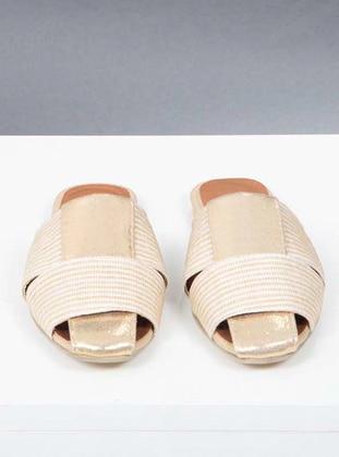 Gold - Sandal - Slippers