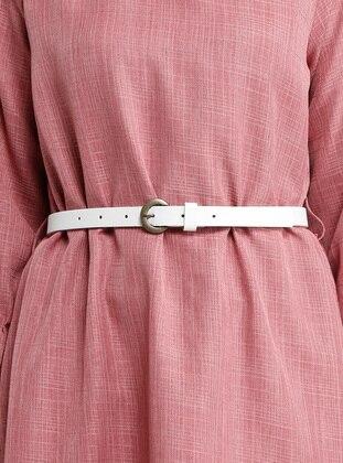 White - Ecru - Belt