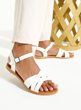 White - Sandal - Sandal - Art Shoes