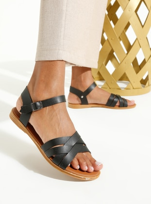 Black - Sandal - Sandal - Art Shoes