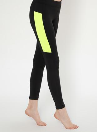 Yellow - Black - Legging
