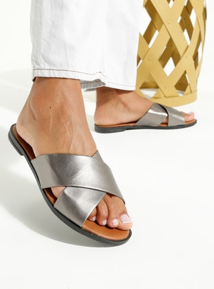 Gray - Sandal - Slippers