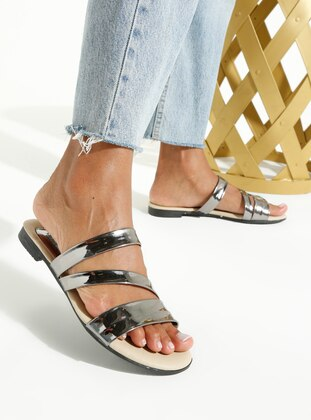 Silver tone - Silver tone - Sandal - Slippers