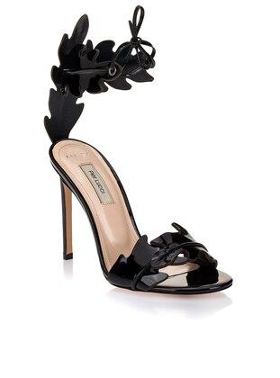 Black - High Heel - Sandal