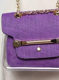 Purple - Shoulder Bags