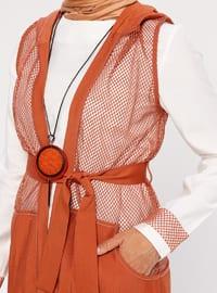 White - Terra Cotta - Unlined - Suit