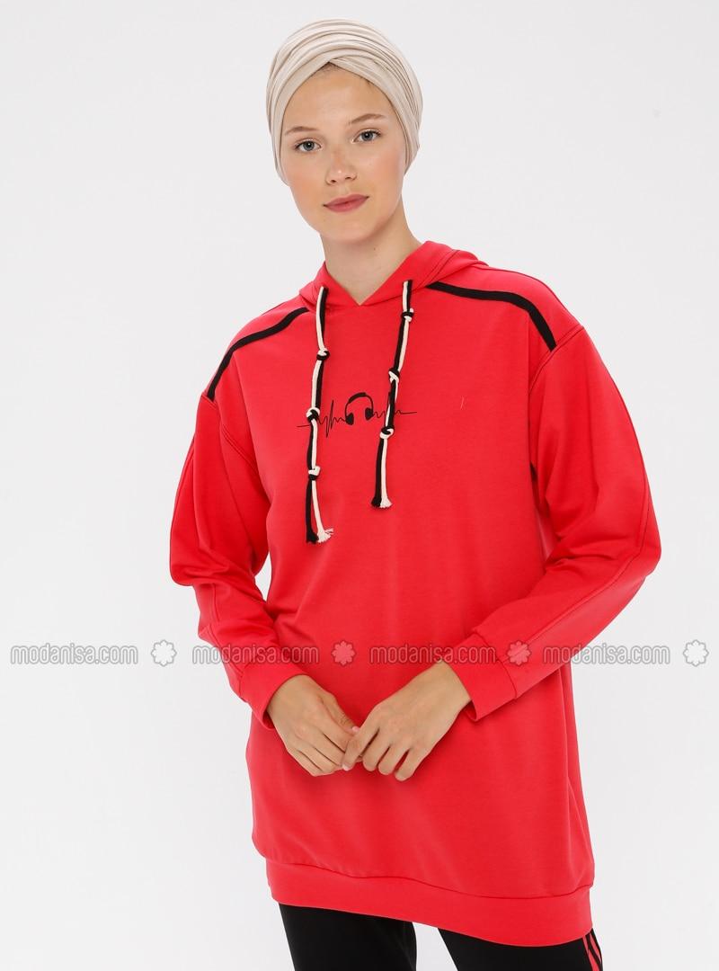 - Red - Sweat-shirt